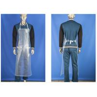 Heavy Duty Waterproof Aprons For Laboratory , Chemical Protective Apron  Manufactures