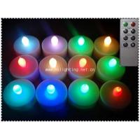 Flameless Colour Changing LED Tea Light Candle Manufactures