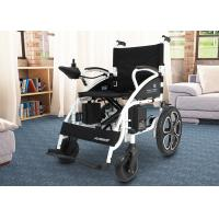 Shock Absorbing Electric Folding Wheelchair For Travelling / Home / Hospital Manufactures