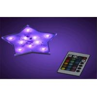 Quality Wedding Electroluminescent Products Five Pointed Star Shape Led Decoration Light for sale