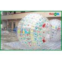 Customized Giant Inflatable Zorbing Ball For Inflatable Sports Games Manufactures