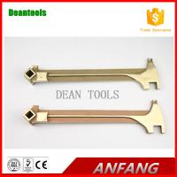 non sparking drum plug wrench sparkless al-br copper UNIVERSAL BUNG WRENCH Manufactures