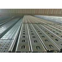 Photovoltaic Solar Stent Solar Panel Mounting Brackets , Pipe Standard Metal Profiles Manufactures