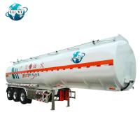 China 3 axles 36000 litres 42000 Liters liquid Semi tanker Trailer for diesel oil  Fuel Oil storage on sale