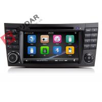 China Auto Radio Double Din Gps Car Stereo , Mercedes E Class Dvd Player Built In SD Port on sale