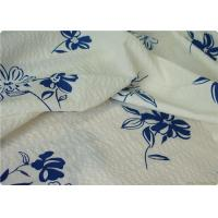 China 100% Cotton Seersucker Fabric Extra Wide Fabric For Bedding 105GSM on sale