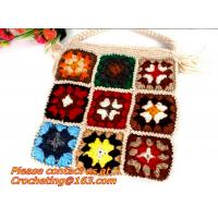Windfall yarn bag knitted bags handmade crocheted female shoulder bag sttend women's