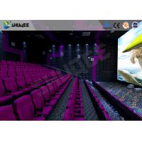 3D Glasses / 3D Film Movie Theater Seats Environment Effect Vibration Cinema Chairs Manufactures