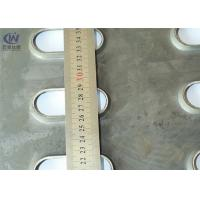 China Perforated Type Safety Grating Galvanized Steel Anti - Skid Plate Stamping Weave Style on sale