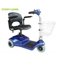 Lightweight 24V Electric 3 Wheel Mobility Scooter 8Km / H For Disabled