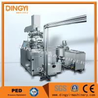 50-500L Suppository Vacuum Emulsifying Machine , Vacuum Emulsifier High Speed Manufactures