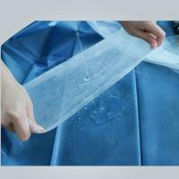 Hydrophilic Non Woven Polypropylene Fabric Roll In Medical Bed Sheet , Good Strength Manufactures