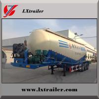 China cheap cement transport semi truck trailer bulk powder tanker trailer Manufactures