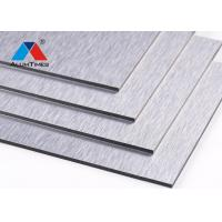 China Resistant exterior panel wall decoration material aluminium composite panel on sale