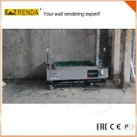 Quality High Speed Automatic Rendering Machine Wall Plaster Machine For Internal Wall CE for sale