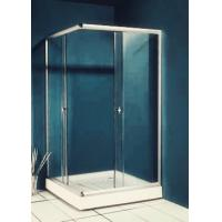 Quality 77 inch 900x900 Square Shower Enclosure , Enclosed Shower Cubicles Top Double for sale