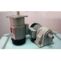 High Efficiency Foot Mounted Helical Geared Motor With Brake / Casting Iron Manufactures