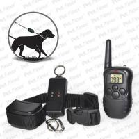 Reliable Remote Pet Training Collar , 300m Leash-Walking Training Collar With Transmitter Manufactures