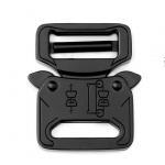 Cobra buckles Metal Belt Buckle 27mm Black Color For Tactical Belt Manufactures