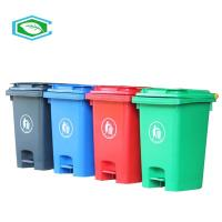 High Capacity 50 Gallon Trash Can For Centralized Recycling And Waste Collection Manufactures