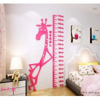 Quality Kids Growth Chart Height Measure For Home/Kids Rooms DIY Decoration Wall for sale