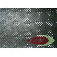 Anodized 3003 Five Bar Non Ferrous Aluminium Tread Plate , Diamond Plate Aluminum Manufactures