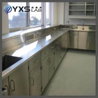 China Stainless steel Chemistry laboratory wall bench on sale