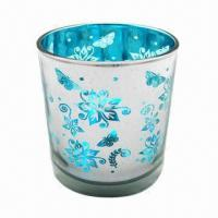 Glass Candle Holders with Fashionable Design Manufactures