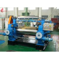 Quality 50HZ 380V Rubber Open Mill / Two Roll Mixing Mill , Φ560x1530mm for sale