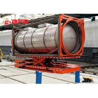 Battery Operated Hydraulic Lifting System Steel Coil Trailers Material Handling Equipment Manufactures