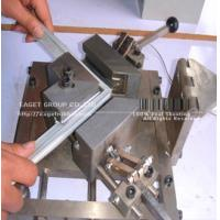 PVC extrusion with magnetic strips
