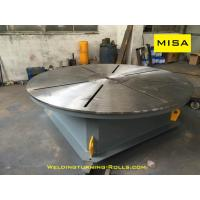 Buy cheap 3 Jaws Chuck Welding Positioner Turntable 1200mm Diameter 2000kg Loading from wholesalers