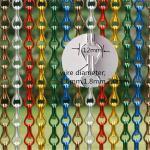 Aluminium Chain Strip Metal Link Door Blinds Curtain Fly Pest Bug Screen Control Manufactures