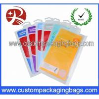 Buy cheap Printed Plastic Hanger Bags For sock Packaging from wholesalers
