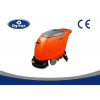 Hand Held Industrial Electric Tile Floor Cleaner Machine 3 - 4.5 Hours Working Time Manufactures