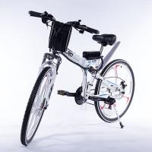 Durable Folding E Bike Integrated Wheel Multi Color Carbon Steel Frame Manufactures