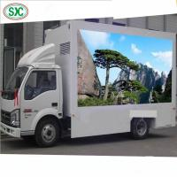High Brightness Mobile Truck LED Display 1R1G1B Tube Chip Iron / Steel Cabinet Manufactures