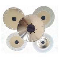 """4""""-16"""" Electroplated Diamond Saw Blades For Glass / Tile / Marble / Stone Cutting Manufactures"""