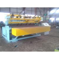 Color Customized Wire Mesh Welding Machine / Anti Climb Mesh Production Line Manufactures