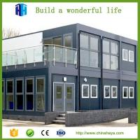 Prefab house portable modular container house office for sale China manufacturer Manufactures