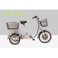 China Pedal Assisted Electric Mobility Scooter Tricycle Cargo Trike 48V 350W on sale