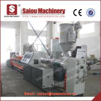 single wall corrugated pipe production pe corrugated pipe production line Manufactures