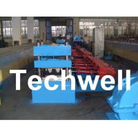 15 Forming Station Crash Barrier Roll Forming Machine for Highway Guardrail TW-W312 Manufactures