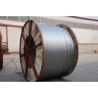 High Carbon Aluminium Clad Steel Wire Single Acsr Lightning Protection Wire For Optical Fiber Composite Overhead Manufactures