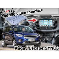 Android Navigation Box Video Interface For Kuga Escape SYNC 3 With wireless carplay androia auto Manufactures