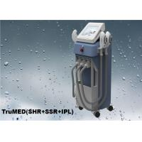 1 - 10Hz Medical Pulse Technology IPL SHR Hair Removal Machine 3 Handles Manufactures