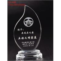 China Clear Elegant Contemporary Full - Colors Weatherability Custom Acrylic Award With Sgs Standards on sale