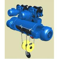 Double speed wire rope motor hoist 15 ton Manufactures