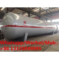 HOT SALE! NEW produced 120m3 50tons propane gas storage tank, Customized mademade CLW lpg gas storage tankers for sale Manufactures