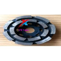 China 100mm diamond grinding wheels for polishing marble,granite and concrete and get high gross degree on sale